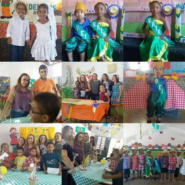 Escola Manoel Matias realizou 1ª Feira Junina na localidade Salinas
