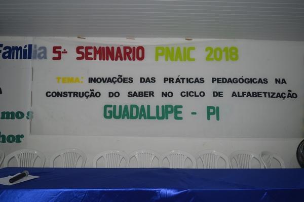 5º Seminário do PNAIC é realizado em Guadalupe