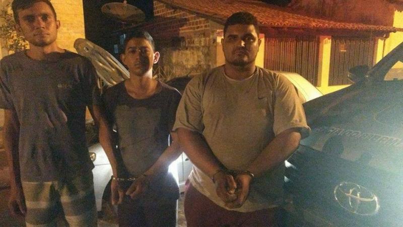 Trio é preso no Piauí com carro roubado no Maranhão