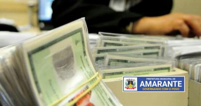 Prefeitura Municipal já está com Carteiras de identidade para entrega na Junta Militar