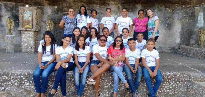 Alunos de Escola Municipal viajam à localidade Caiçara para conhecer a história do Padre David Ângelo Leal