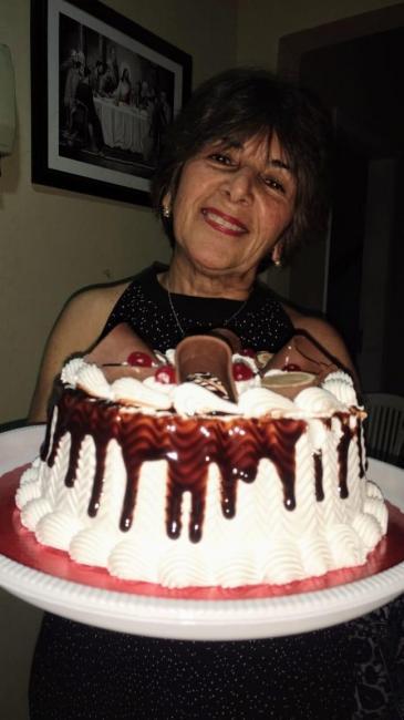Feliz aniversário para Maria Lígia Almendra