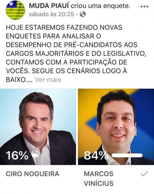 Dr Marcos Vinícius já está entre os preferidos na disputa ao Senado Federal