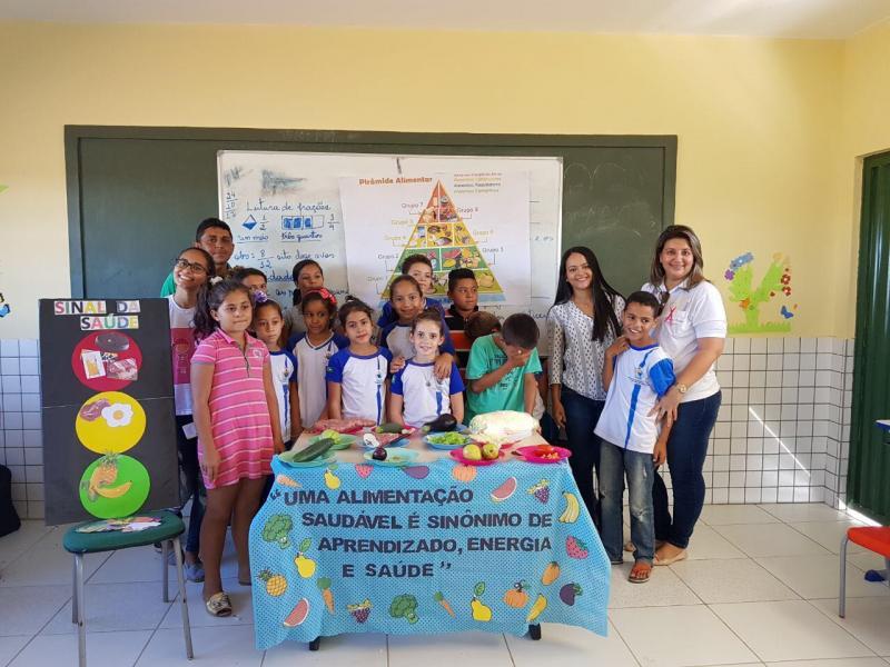Município de Conceição do Canindé é assistido com  programa saúde na escola