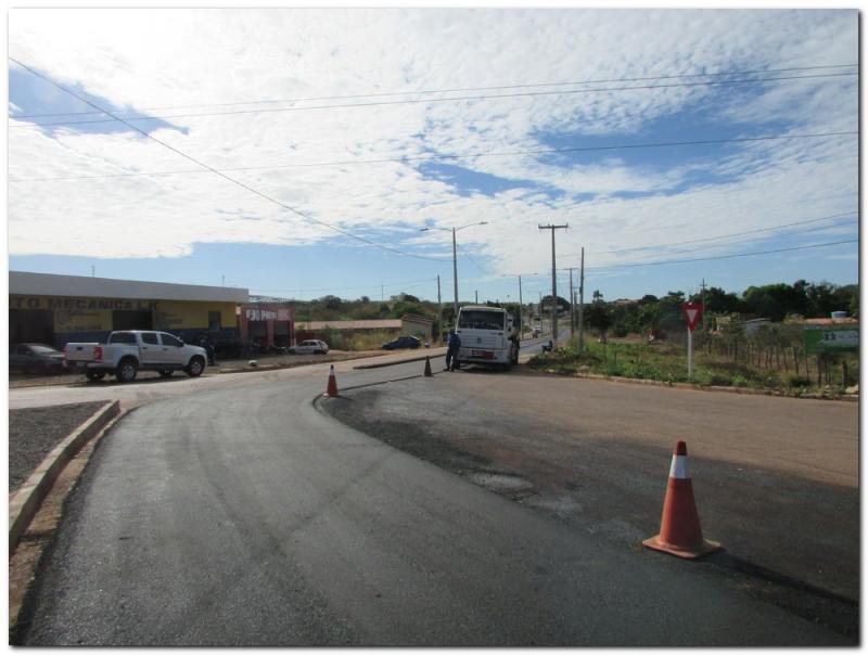 Prefeitura Municipal de Inhuma da início as obras-asfalto das avenidas