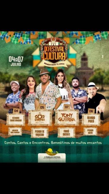 Aniversário do município de Beneditinos Piauí