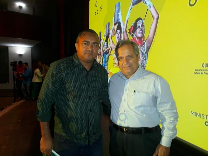 Secretário Ronaldo Brandão de Amarante participa de curso do Minc em Teresina