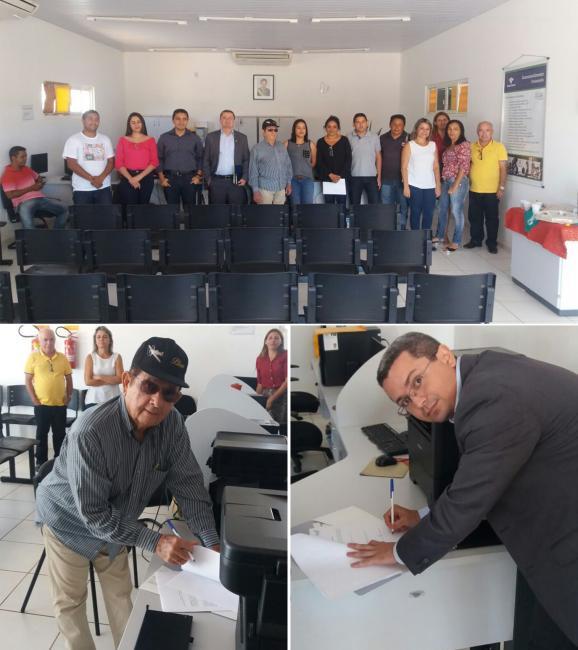 Prefeito de Uruçuí assina Termo de Compromisso Junto a Receita Federal