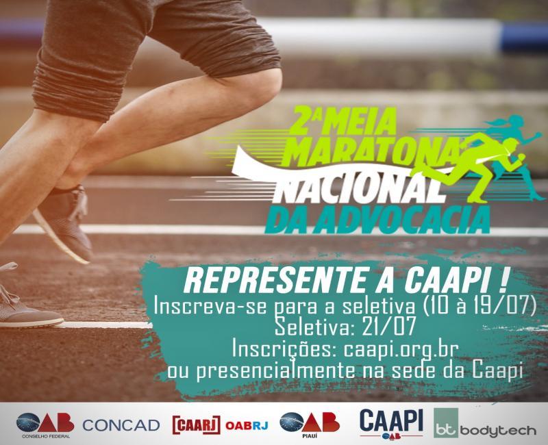 Caapi seleciona atletas para Meia Maratona no Rio de Janeiro