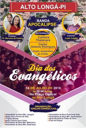 Igrejas Evangélicas comemoram o Dia dos Evangélicos em Alto Longá