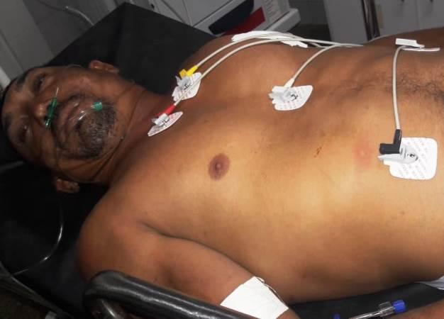 Homem é gravemente ferido com cabo de vassoura em Campo Maior