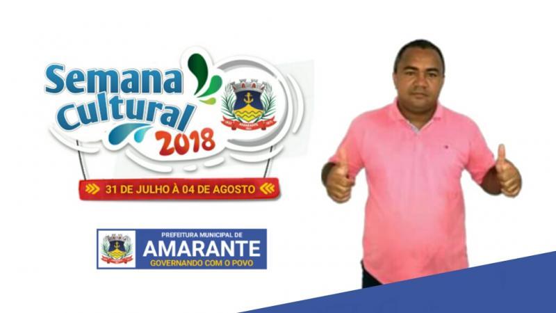 Secretário de Cultura e Turismo de Amarante fala sobre semana cultural da cidade