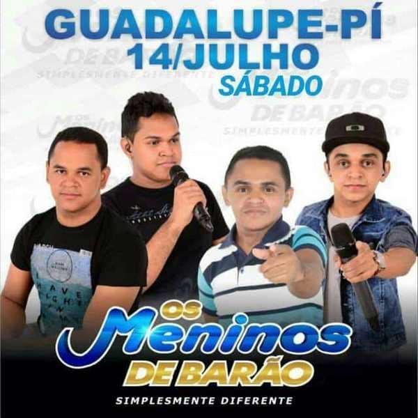 Sábado tem Fest Férias com Os Meninos de Barão em Guadalupe