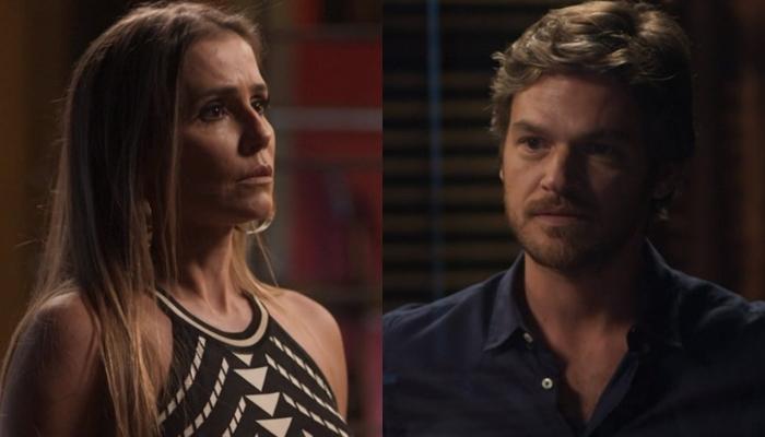 Segundo Sol: Beto confronta Karola e pergunta o motivo dela ter mentido para Ícaro