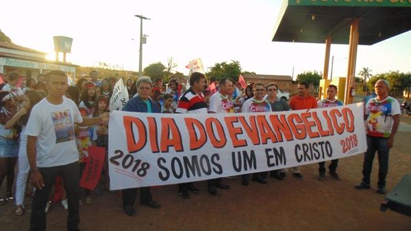 Dia do Evangélico é celebrado em Santo  Inácio  do Piauí