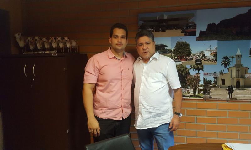 Vereador Francisco Emanoel se reúne com João Mádison em busca de recursos para Água Branca