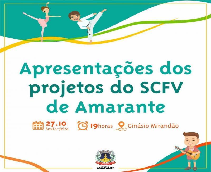 Prefeitura de Amarante realizará 1° Encontro de Famílias do Serviço de Convivência