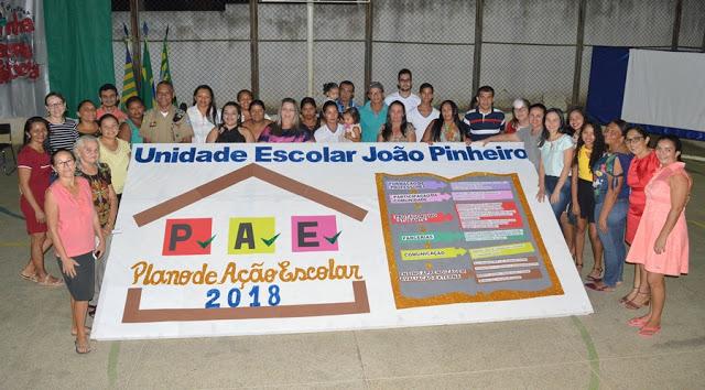 Veja como foi a apresentação do Plano de Ação Escolar da Escola João Pinheiro