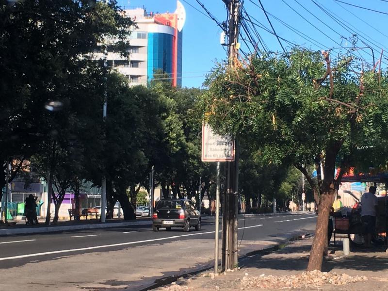 Faixas exclusivas para ônibus estão sob fiscalização eletrônica em Teresina