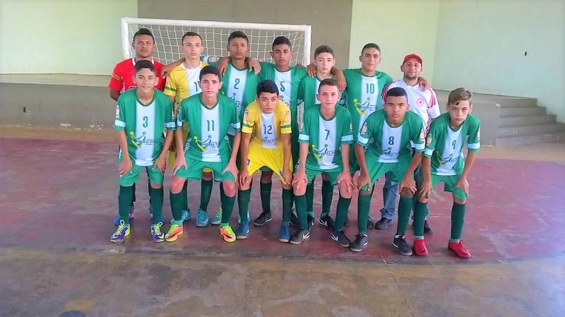 Seleção de Joaquim Pires Sub-15 é campeã do Circuito Piauí-Maranhão de Futsal