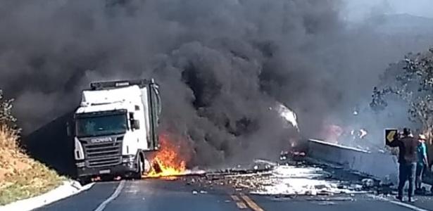 Acidente com 11 veículos deixa oito mortos e mais de 50 feridos na BR-251