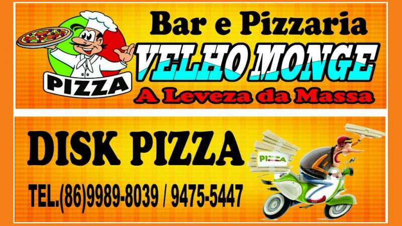 Veja as delícias que você encontra na Pizzaria Velho Monge em Amarante; confira!