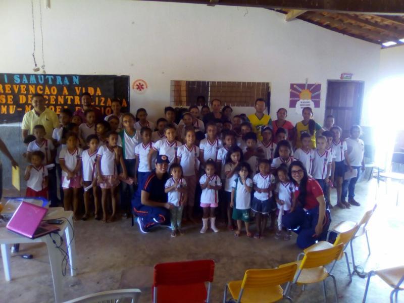 Projeto Samutran é realizado no município de Manoel Emídio