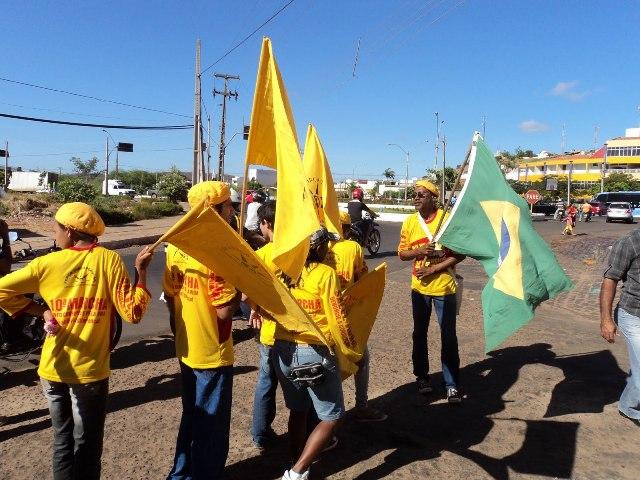 Inicia nesta terça a 16ª Marcha Contra a Corrupção e Pela Vida