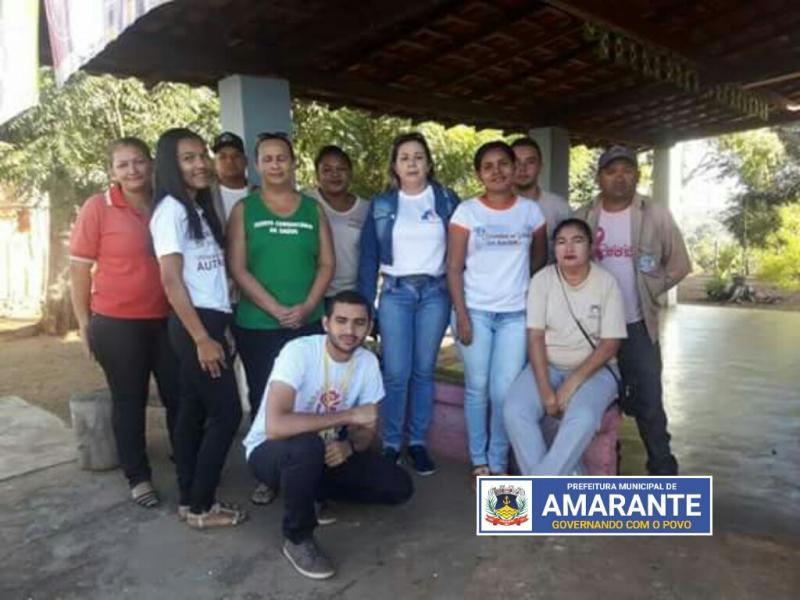 Prefeitura Municipal de Amarante em mutirão contra o mosquito Aedes Aegypti
