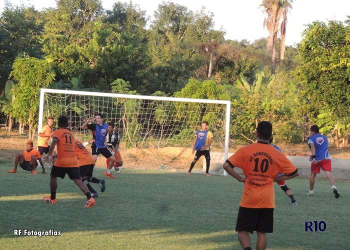 Abertura do tradicional campeonato futebol Society nos festejos de São José em Campo Largo-PI