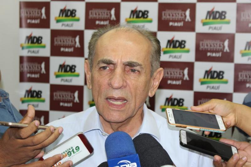Marcelo Castro afirma que MDB não discute mais vaga de vice