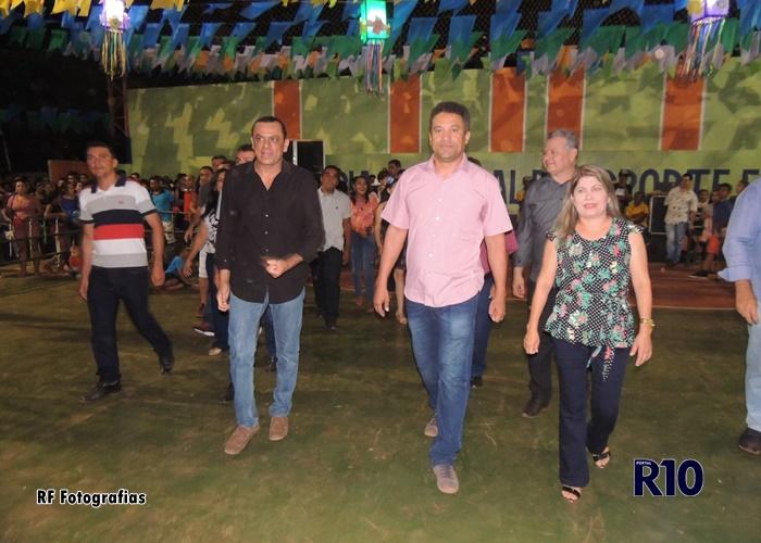 Pré-candidato ao senado Frank Aguiar visita Campo Largo no segundo dia de Festival Cultural