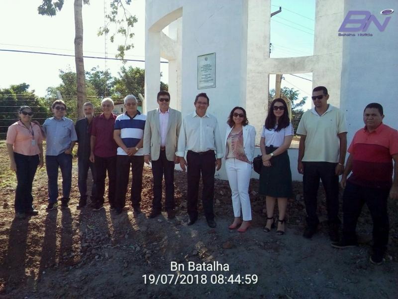 Reservatório de água com capacidade para 150 mil metros cúbicos ,foi inaugurado em Batalha