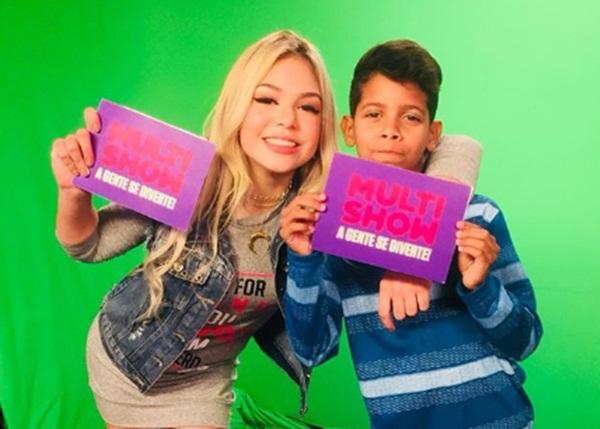 MC Melody e MC Bruninho comandam programa no Multishow