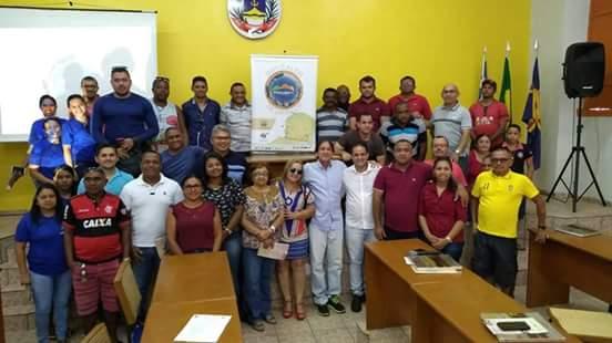 Prefeito Diego Teixeira participa de apresentação do Rally Piocerá Bike