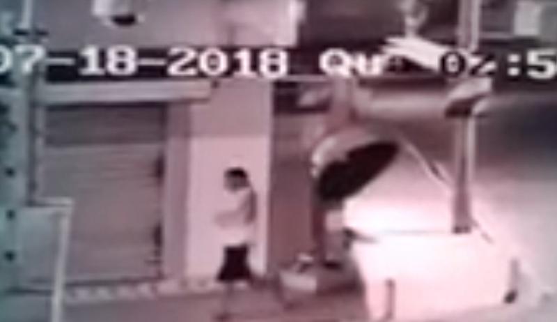 Vídeo mostra suspeito de matar morador de rua no Piauí