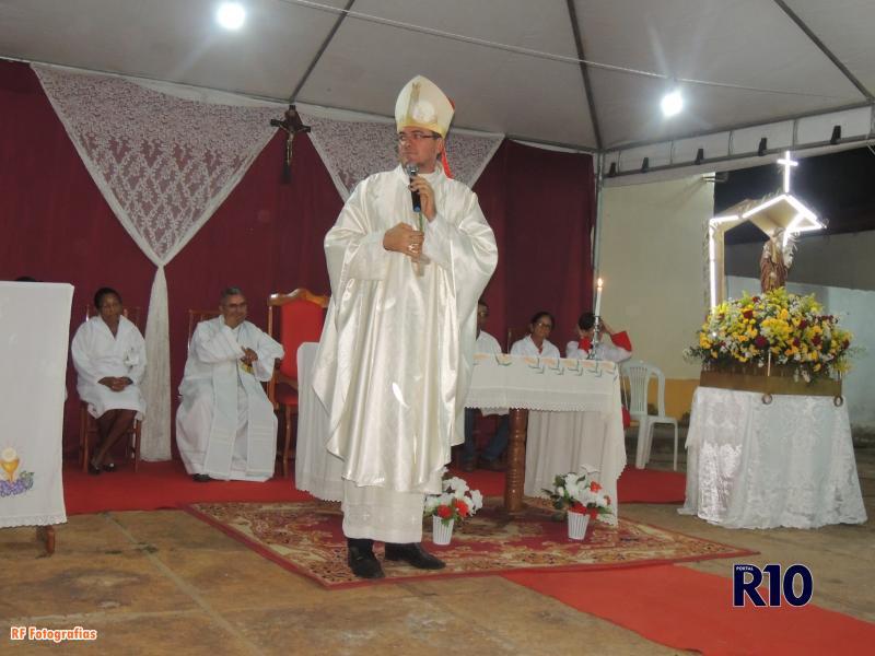 Dom Francisco preside Santa Missa de abertura dos festejos de São José em Campo Largo-PI