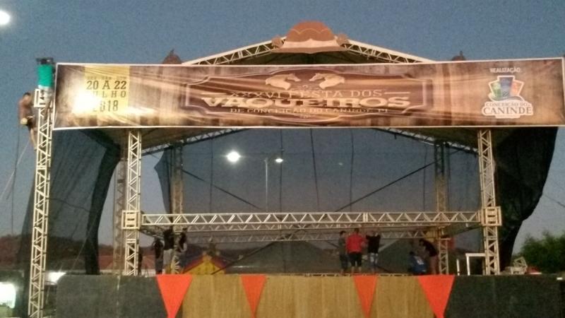 Tudo pronto para a maior e melhor Festa dos Vaqueiros do Piauí
