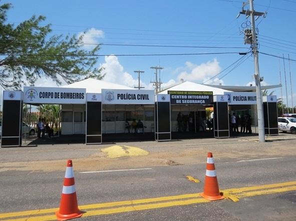 Centro Integrado de Segurança começa a funcionar no litoral do Piauí