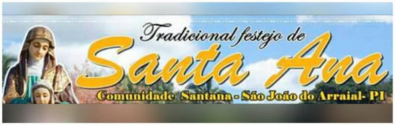 Festejo de Santa Ana começa hoje (21/07) em São João do Arraial