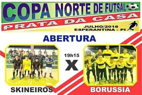 Borussia SJA estreia hoje  (21/07) na  Copa Norte Prata da casa 2018