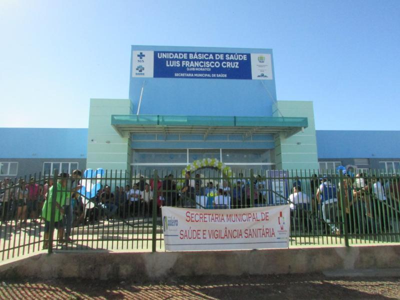 MADEIRO: Inaugurada a UBS Luis Francisco Cruz (Luis Norato) na localidade Sussuapara