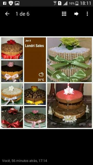 Tenha o bolo mais lindo e saboroso na sua festa de Aniversário