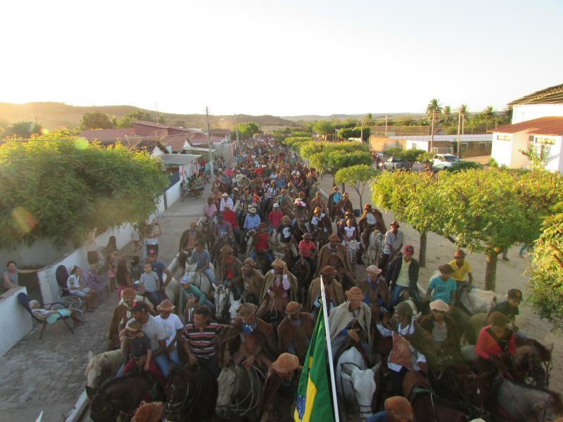 XXXVI festa de vaqueiros de Conceição do Canindé Cavalgada