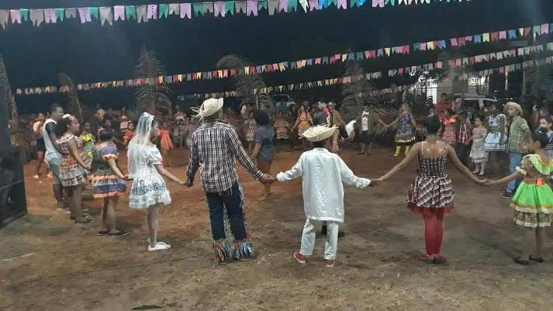 Prefeito de Nazária participa de arraial em comunidade do município