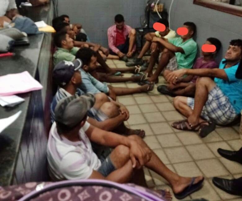 Polícia prende nove pessoas após furto em sítio em Timon