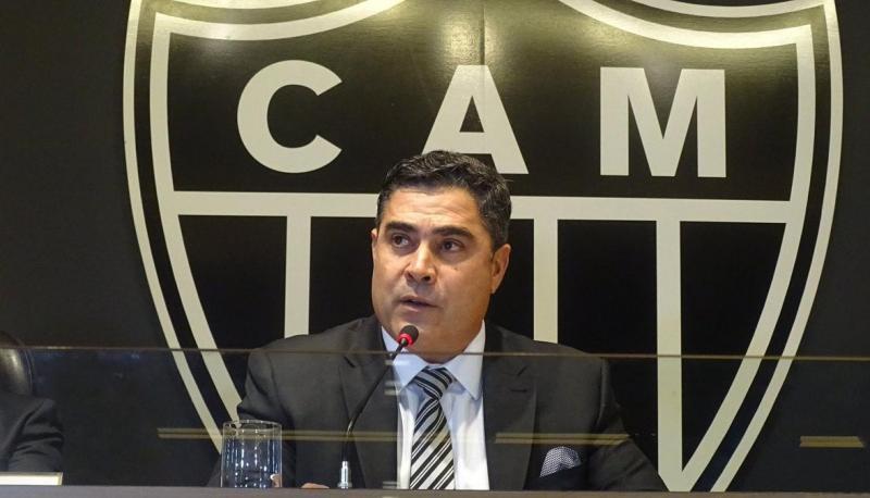 Presidente do Atlético chama juiz de