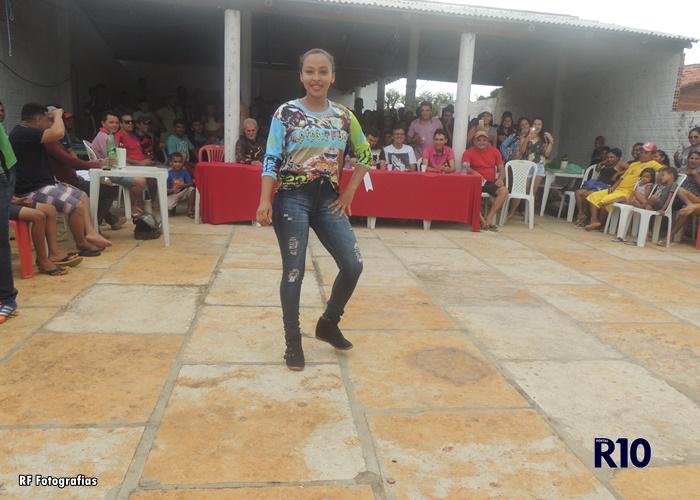 Marina é Campeã da Garota Croos na primeira Trilha de Motocroos em Campo Largo-PI