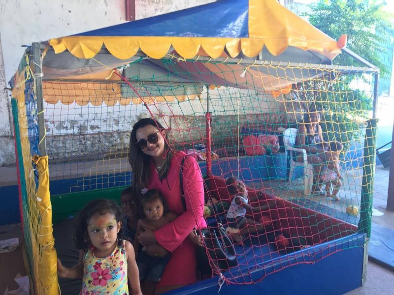 Assistência Social de Água Branca promove dia de lazer com beneficiários do Criança Feliz