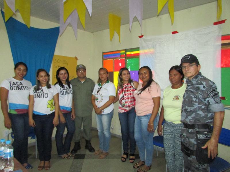 Conselho tutelar de Lagoinha do Piauí realiza palestra de educação no trânsito